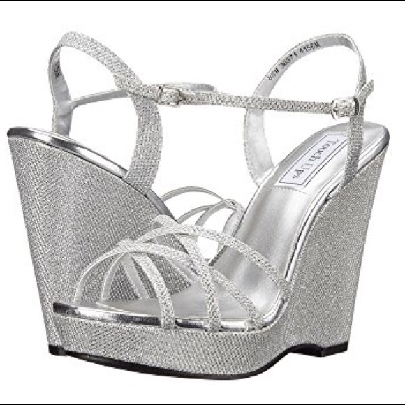 b4a9b67aa0b ... silver wedge dress sandal 7.5 M. M 5af9420b85e60538803054b3